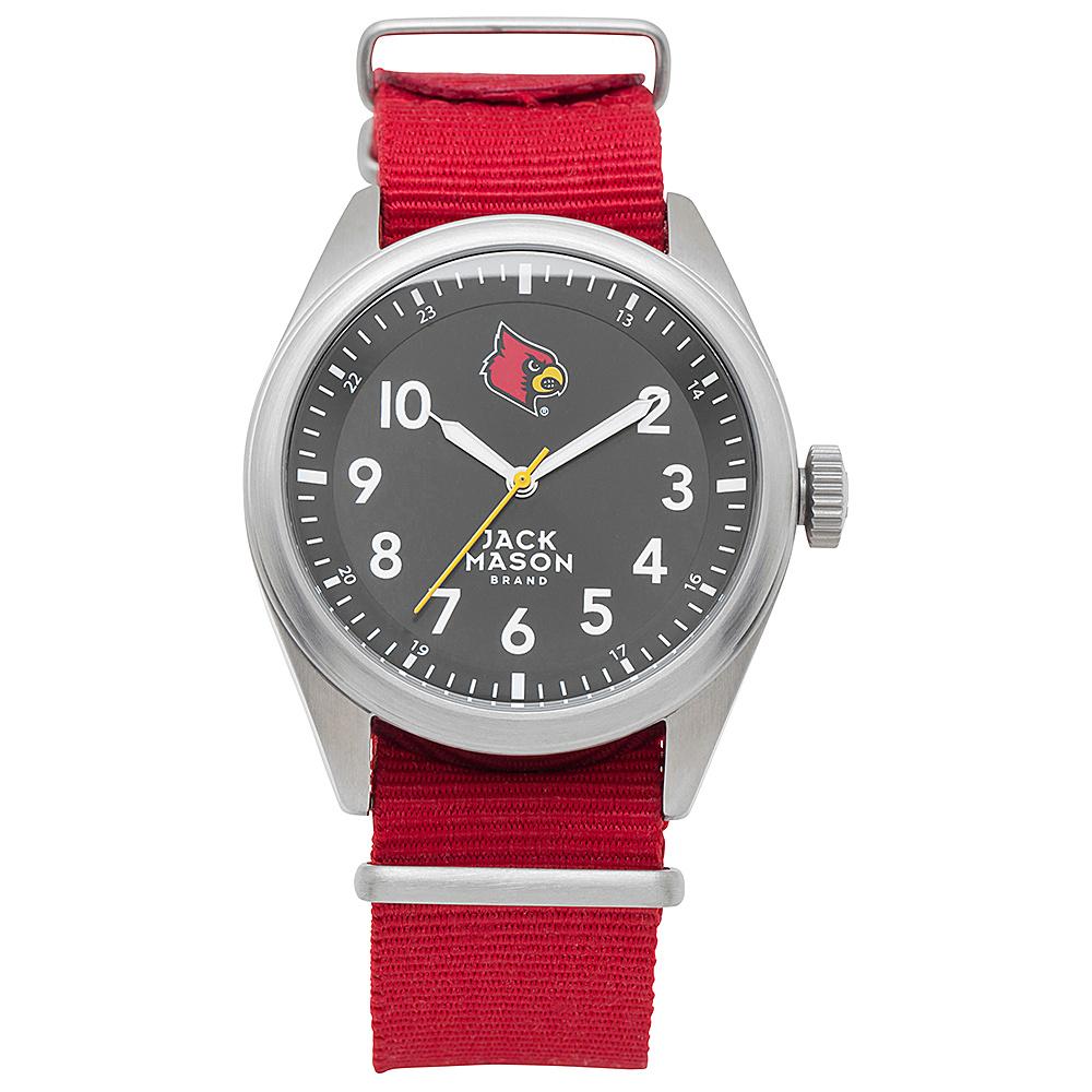 Jack Mason League NCAA Nato Watch Louisville Cardinals - Jack Mason League Watches - Fashion Accessories, Watches