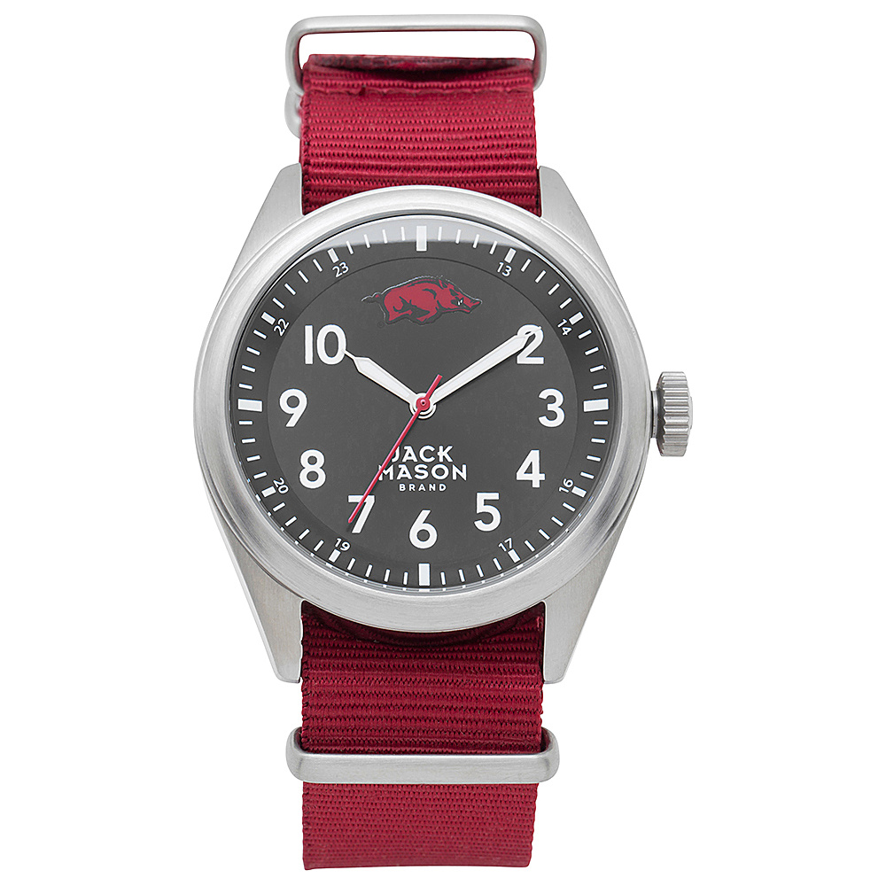 Jack Mason League NCAA Nato Watch Arkansas Razorbacks - Jack Mason League Watches - Fashion Accessories, Watches