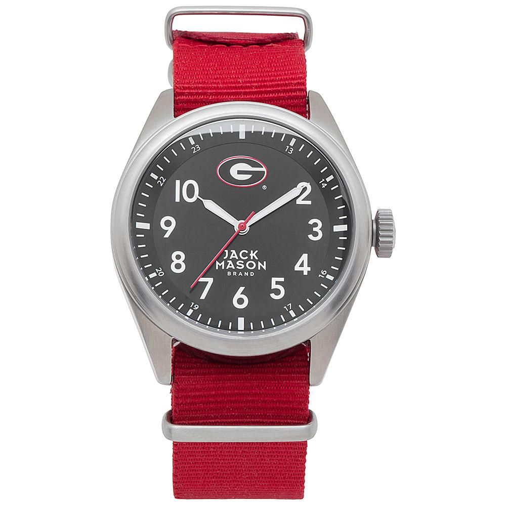 Jack Mason League NCAA Nato Watch Georgia Bulldogs - Jack Mason League Watches - Fashion Accessories, Watches