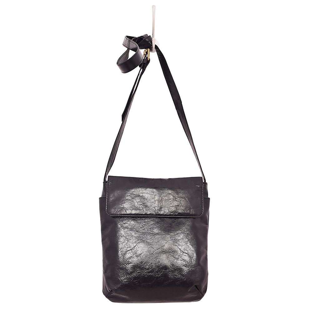 Latico Leathers Shea Crossbody Black - Latico Leathers Leather Handbags - Handbags, Leather Handbags