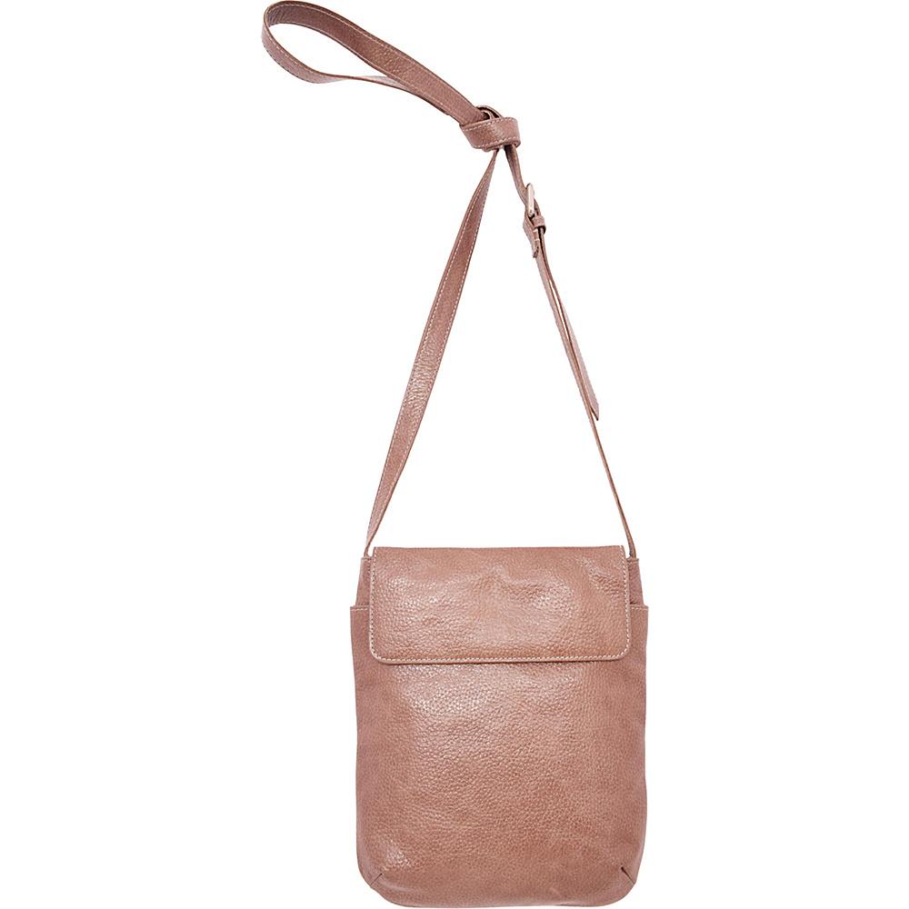 Latico Leathers Shea Crossbody Pebble Taupe - Latico Leathers Leather Handbags - Handbags, Leather Handbags