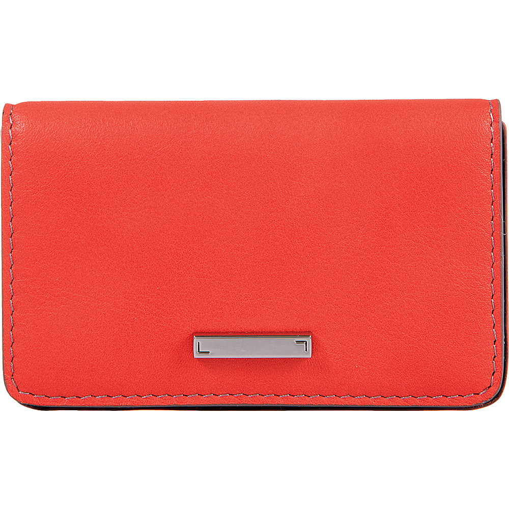 Lodis Mill Valley Under Lock & Key Mini Card Case Coral - Lodis Womens Wallets - Women's SLG, Women's Wallets