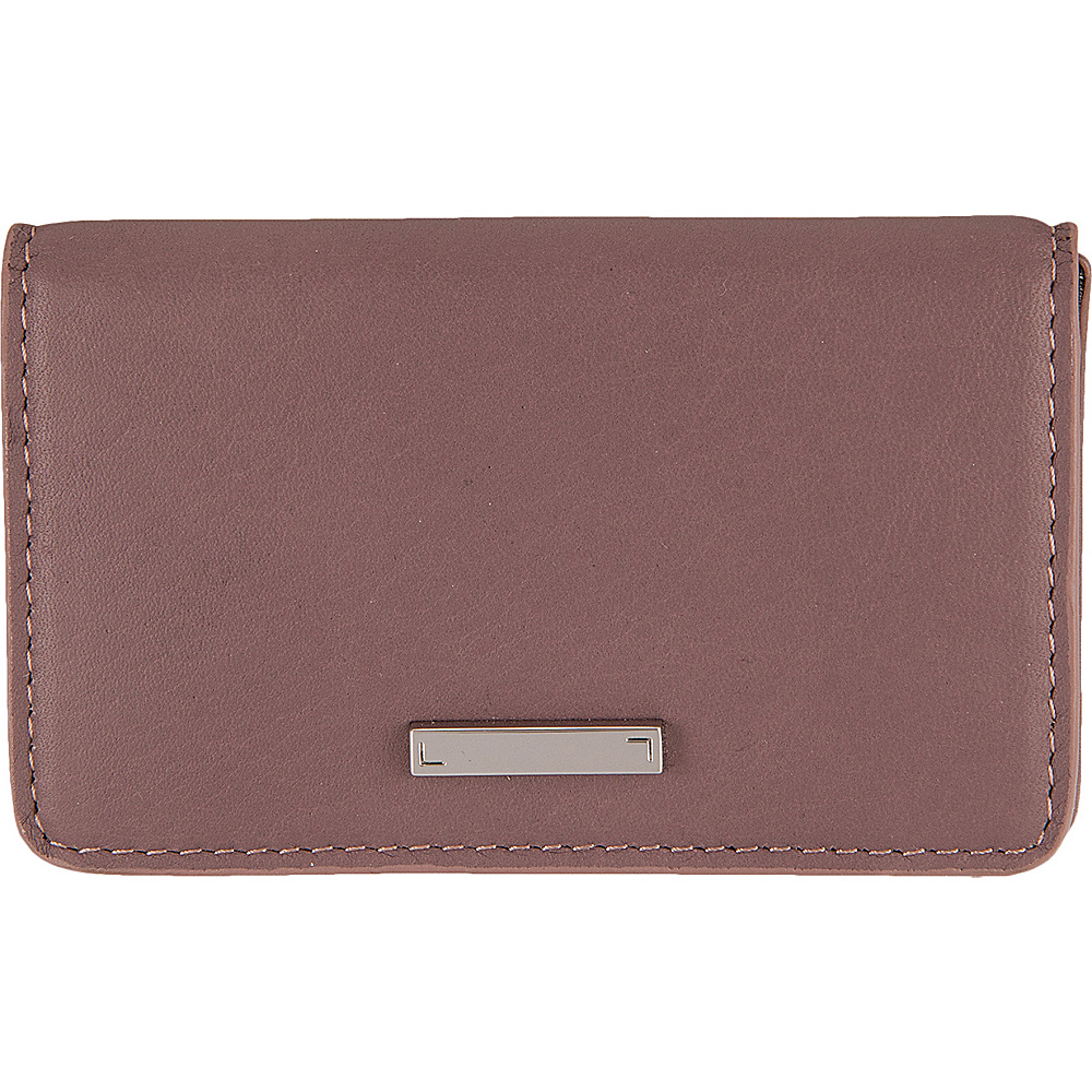 Lodis Mill Valley Under Lock & Key Mini Card Case Lilac - Lodis Womens Wallets - Women's SLG, Women's Wallets