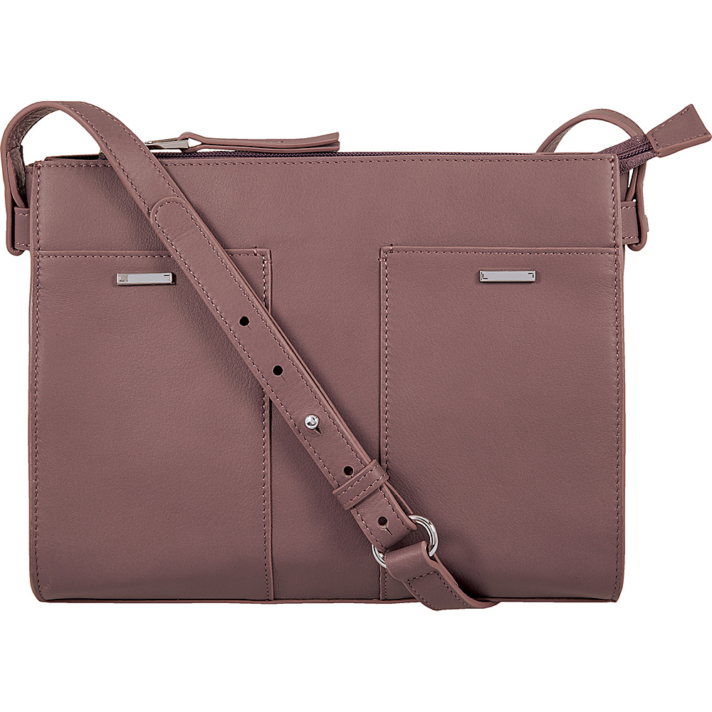 Lodis Mill Valley Under Lock & Key Hermione Crossbody Lilac - Lodis Leather Handbags - Handbags, Leather Handbags