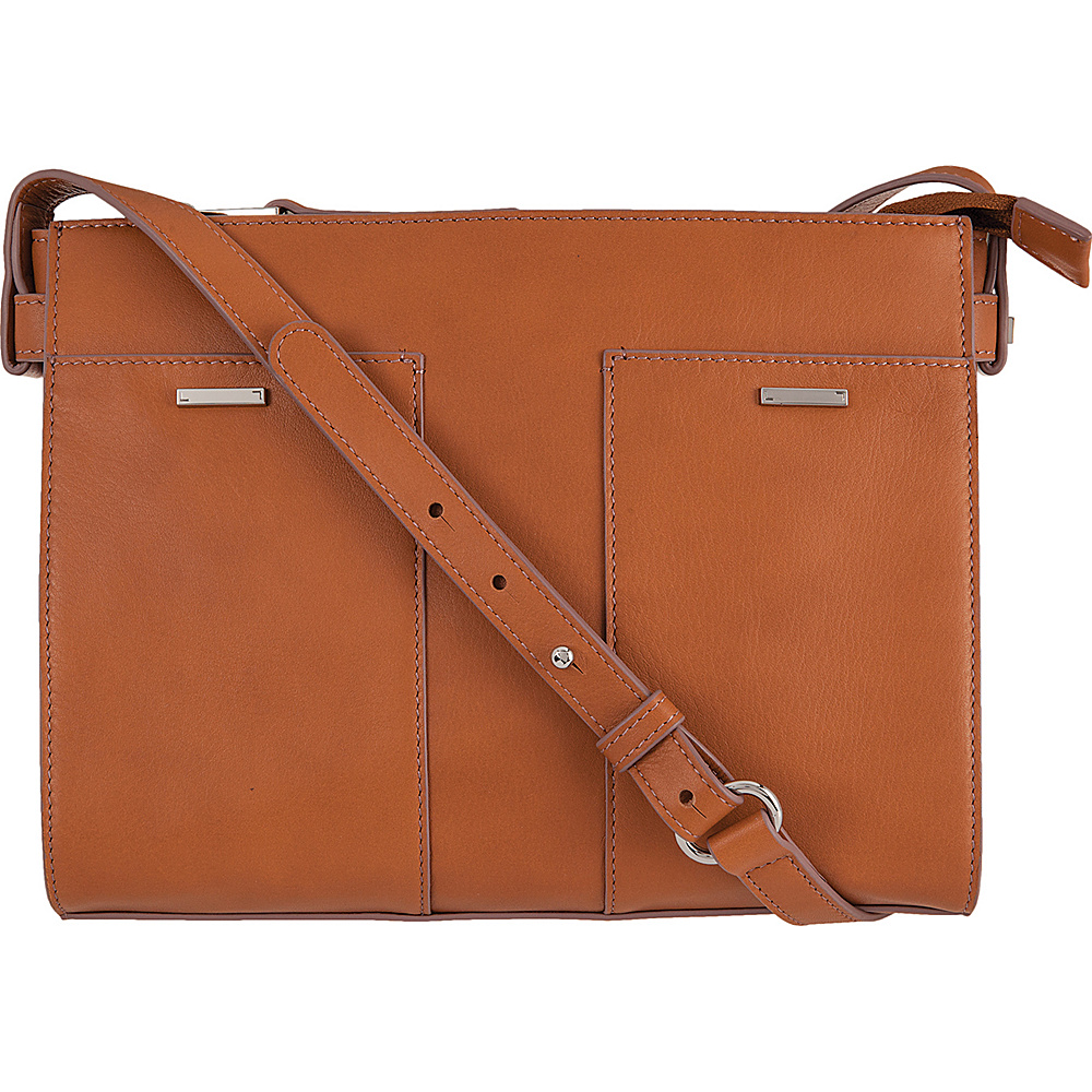 Lodis Mill Valley Under Lock & Key Hermione Crossbody Toffee - Lodis Leather Handbags - Handbags, Leather Handbags