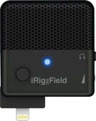 IK Multimedia iRig Mic Field Stereo Microphone Black - IK Multimedia Electronic Accessories
