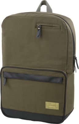 HEX Origin Satin Laptop Backpack Agency Satin Fatigue - HEX Laptop Backpacks