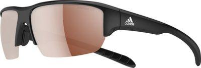adidas sunglasses Kumacross Halfrim Polarized Sunglasses Black - adidas sunglasses Eyewear