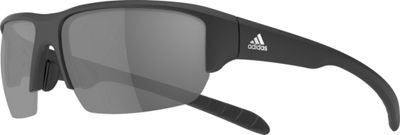 Image of adidas sunglasses Kumacross Halfrim Polarized Sunglasses Matte Black - adidas sunglasses Sunglasses