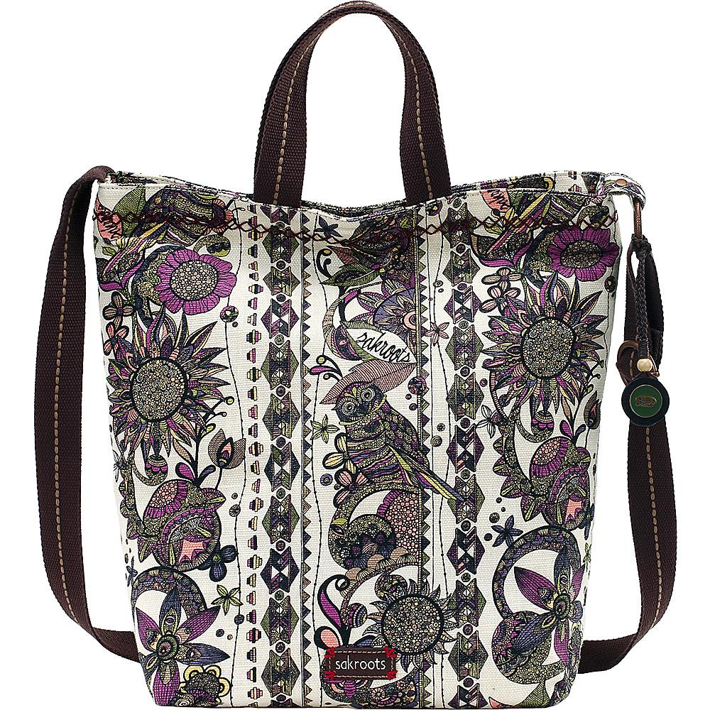 Sakroots Artist Circle Campus Tote- Seasonal Colors Ivory Spirit Desert - Sakroots Fabric Handbags - Handbags, Fabric Handbags