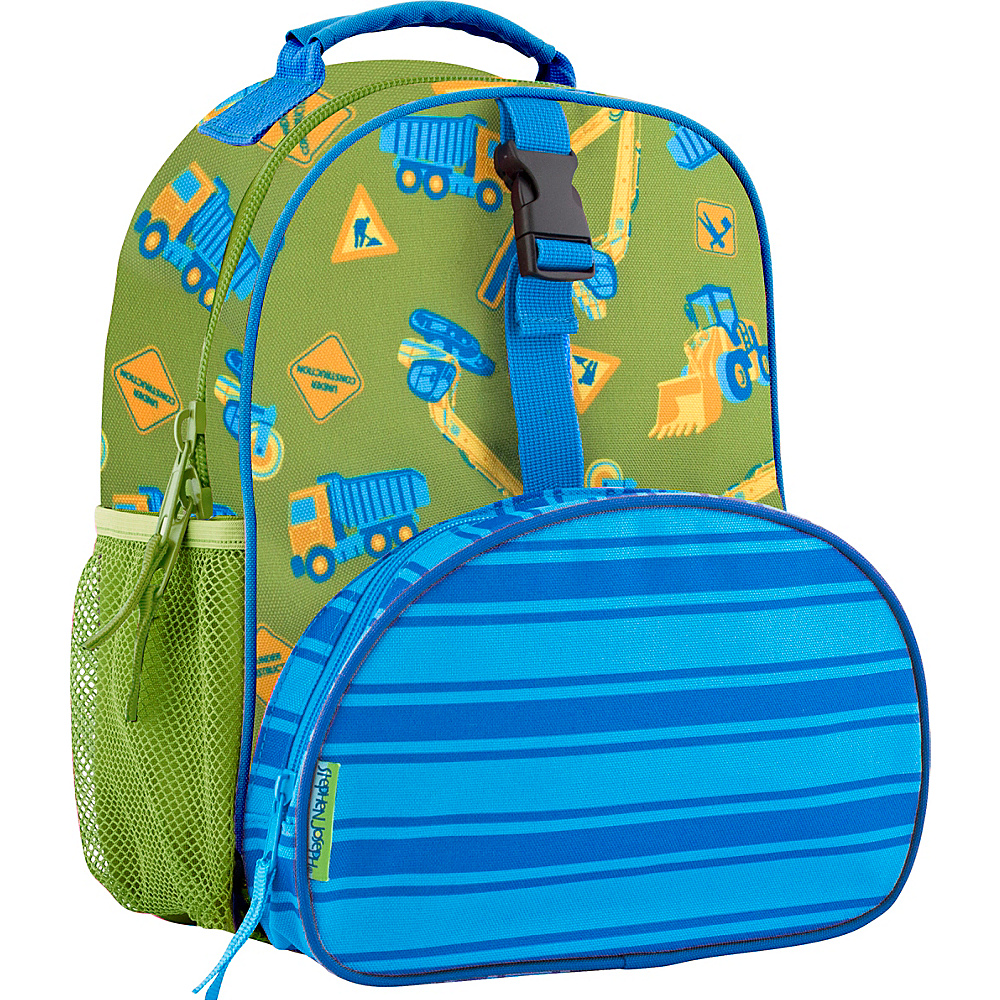 Stephen Joseph All Over Print Mini Backpack Construction - Stephen Joseph Kids Backpacks - Backpacks, Kids' Backpacks