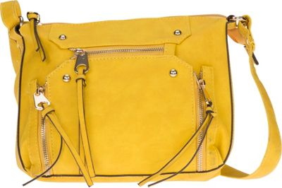 MoDa Rustic Crossbody Yellow - MoDa Manmade Handbags
