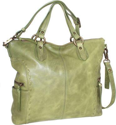 Nino Bossi Adela Crossbody Avocado - Nino Bossi Leather Handbags