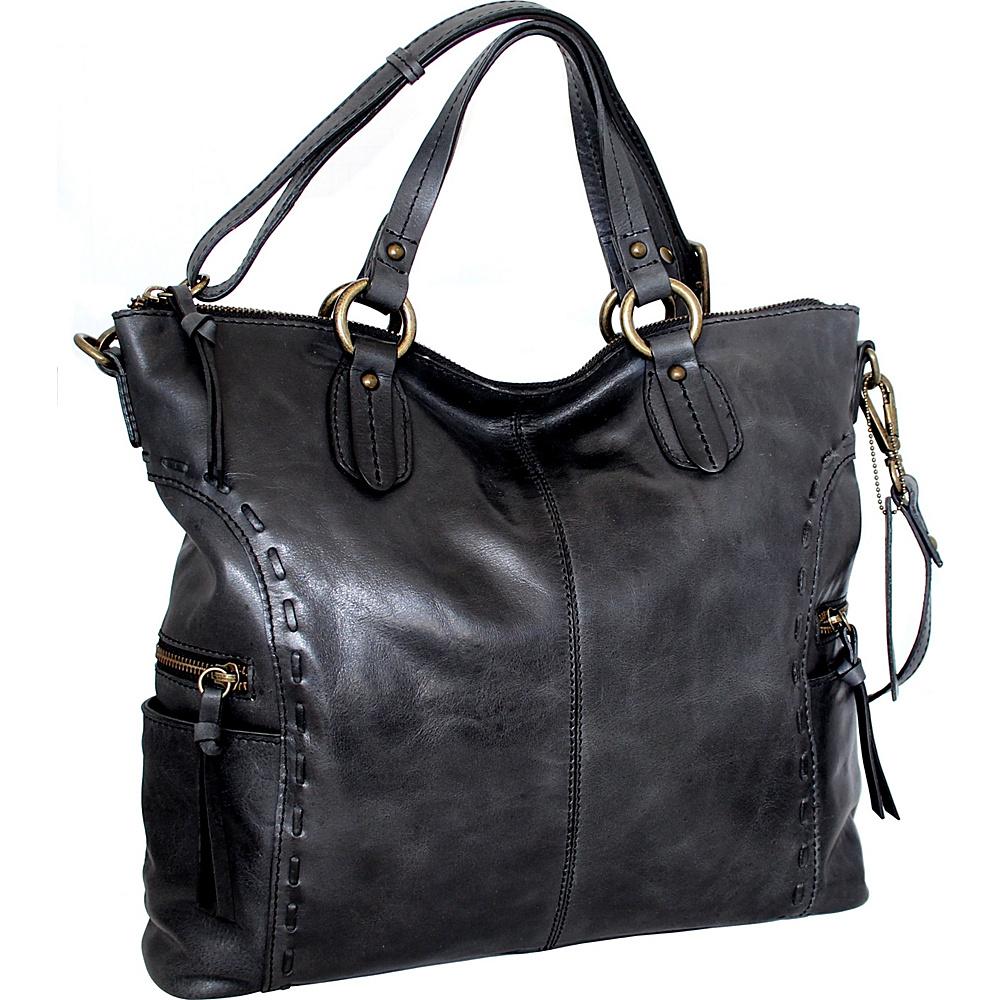 Nino Bossi Adela Crossbody Black - Nino Bossi Leather Handbags - Handbags, Leather Handbags