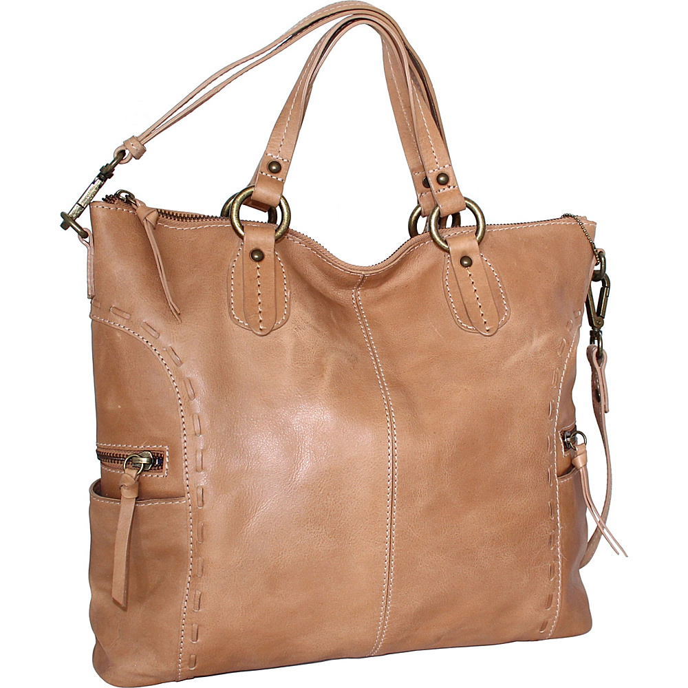 Nino Bossi Adela Crossbody Nut - Nino Bossi Leather Handbags - Handbags, Leather Handbags