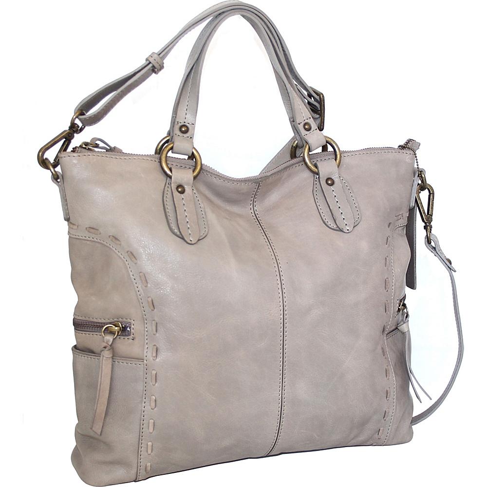 Nino Bossi Adela Crossbody Stone - Nino Bossi Leather Handbags - Handbags, Leather Handbags