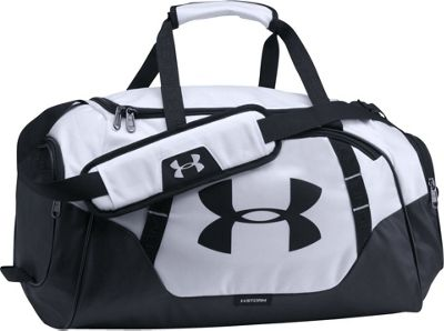 Under Armour Undeniable Small Duffle 3.0 White/Black/Black - Under Armour Gym Duffels