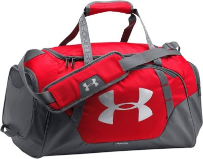 Under Armour Undeniable Small Duffle 3.0 Red/Graphite/Silver - Under Armour Gym Duffels