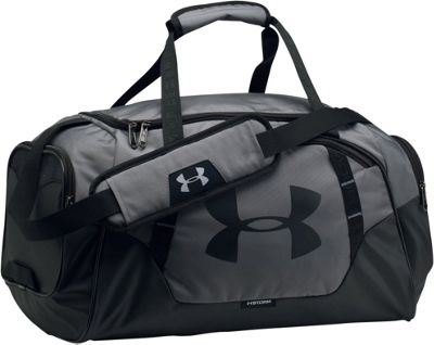 Under Armour Undeniable Small Duffle 3.0 Graphite/Black/Black - Under Armour Gym Duffels