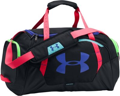 Under Armour Undeniable Small Duffle 3.0 Black / Black / Constellation Purple - Under Armour Gym Duffels