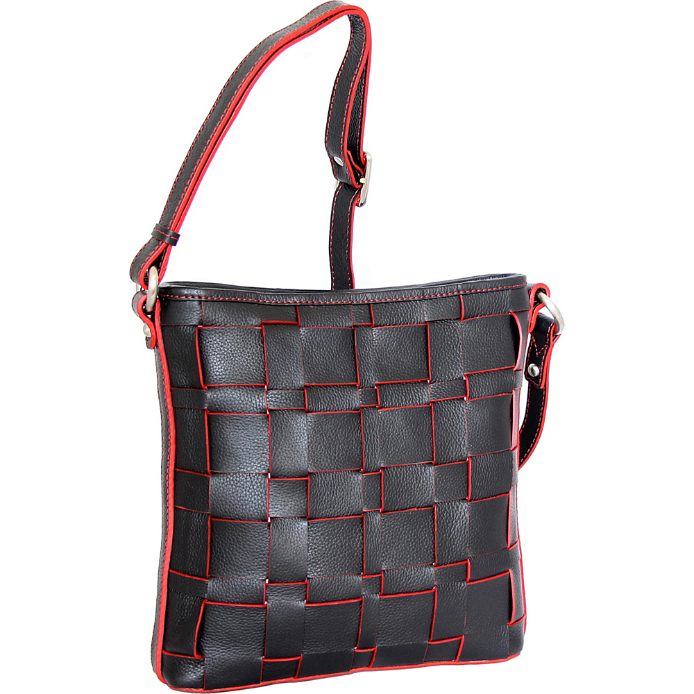 Nino Bossi Colleen Crossbody Black - Nino Bossi Leather Handbags - Handbags, Leather Handbags