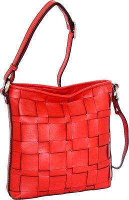 Nino Bossi Colleen Crossbody Red - Nino Bossi Leather Handbags