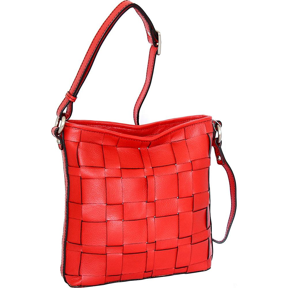 Nino Bossi Colleen Crossbody Red - Nino Bossi Leather Handbags - Handbags, Leather Handbags