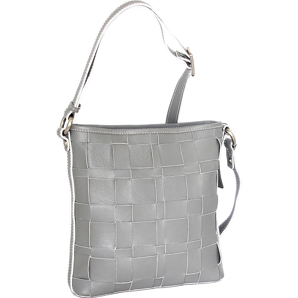 Nino Bossi Colleen Crossbody Stone - Nino Bossi Leather Handbags - Handbags, Leather Handbags