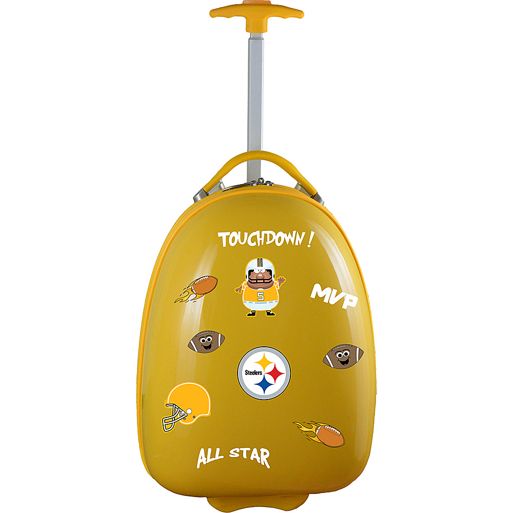 MOJO Denco Kids Luggage Pod Pittsburgh Steelers - MOJO Denco Kids Luggage - Luggage, Kids' Luggage
