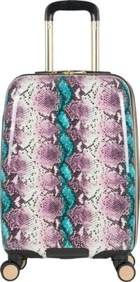 "Image of Aimee Kestenberg Aruba 20"" Hardside Expandable Carry-On Spinner Romantic Snake - Aimee Kestenberg Hardside Carry-On"