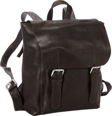 Petersons San Francisco 13 inch Laptop Backpack Brown - Petersons Laptop Backpacks