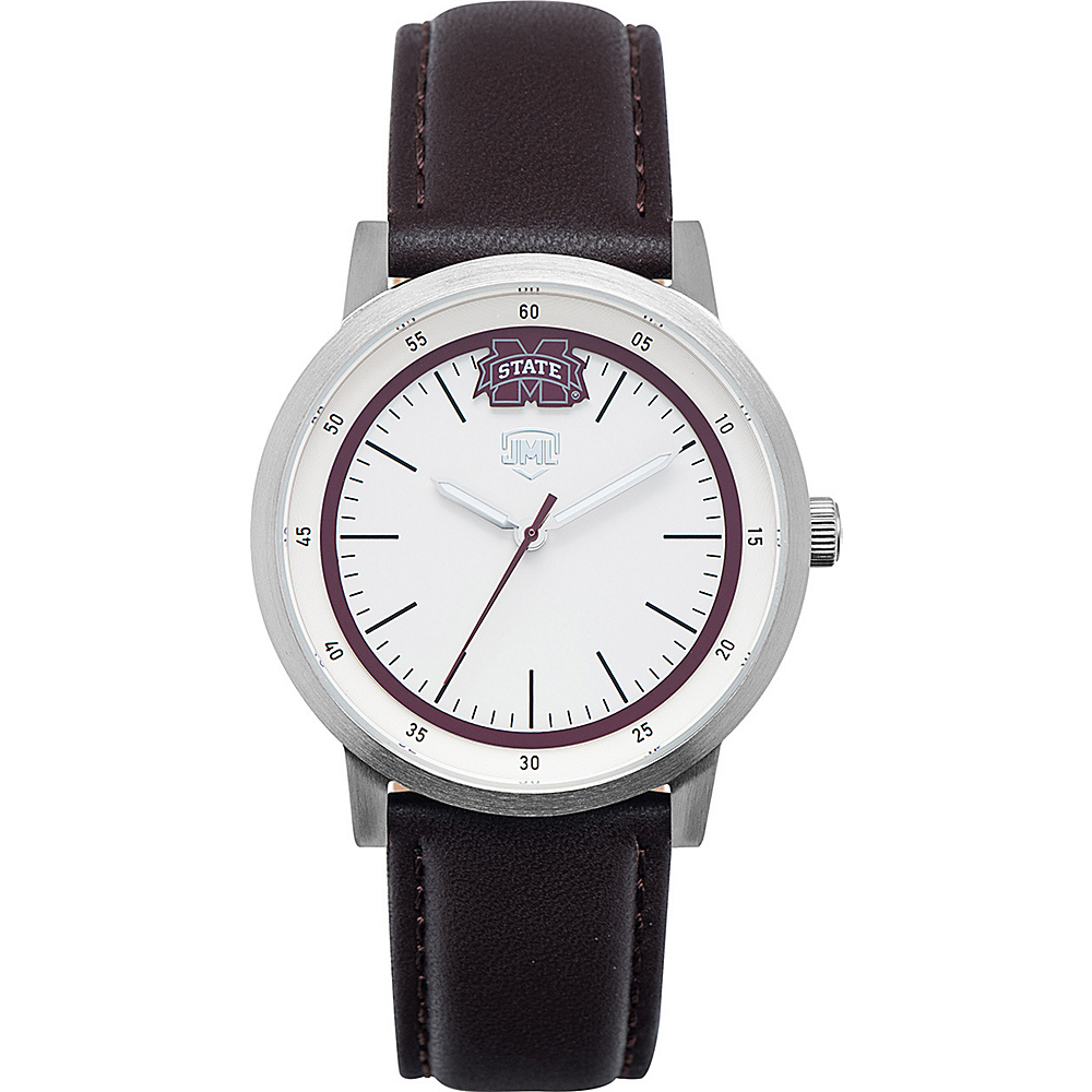 Jack Mason League NCAA Leather Strap Watch Mississippi State - Jack Mason League Watches - Fashion Accessories, Watches