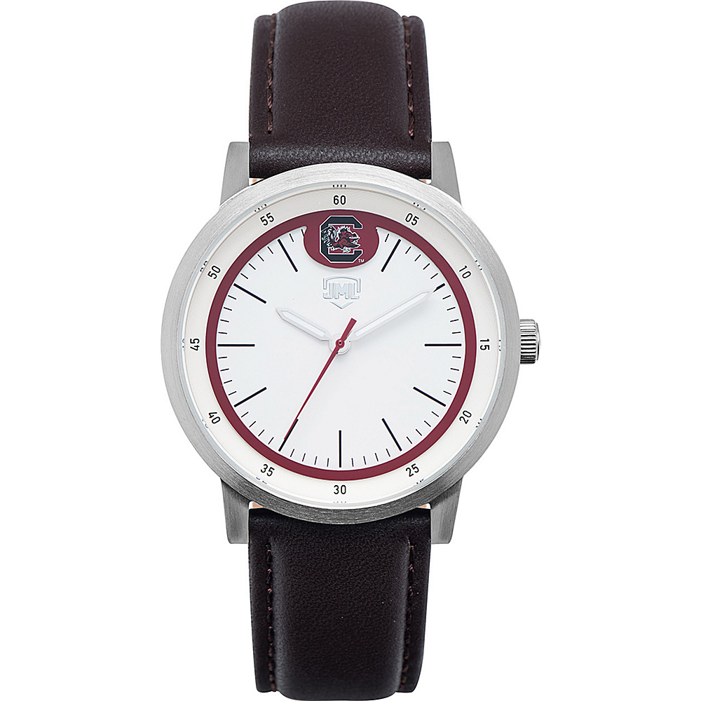 Jack Mason League NCAA Leather Strap Watch South Carolina - Jack Mason League Watches - Fashion Accessories, Watches