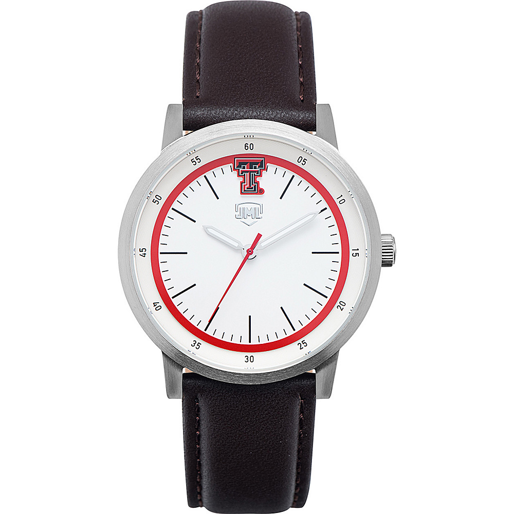 Jack Mason League NCAA Leather Strap Watch Texas Tech - Jack Mason League Watches - Fashion Accessories, Watches