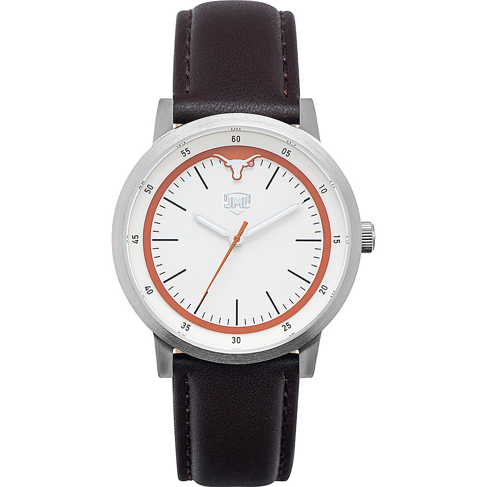 Jack Mason League NCAA Leather Strap Watch Texas - Jack Mason League Watches - Fashion Accessories, Watches