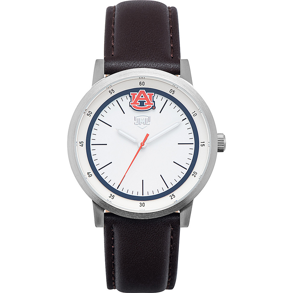 Jack Mason League NCAA Leather Strap Watch Auburn - Jack Mason League Watches - Fashion Accessories, Watches