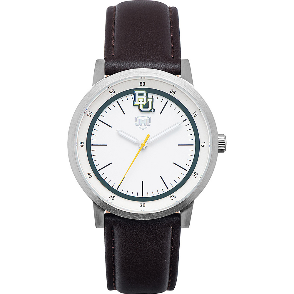 Jack Mason League NCAA Leather Strap Watch Baylor - Jack Mason League Watches - Fashion Accessories, Watches
