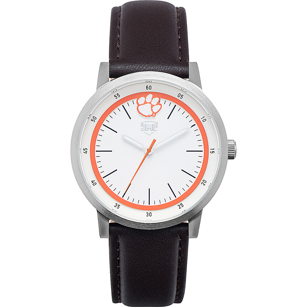 Jack Mason League NCAA Leather Strap Watch Clemson - Jack Mason League Watches - Fashion Accessories, Watches