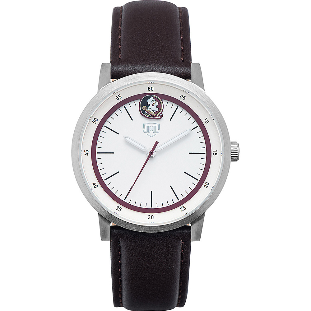 Jack Mason League NCAA Leather Strap Watch Florida State - Jack Mason League Watches - Fashion Accessories, Watches