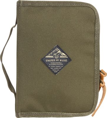 United by Blue Peaks Zip Case Olive - United by Blue Packing Aids