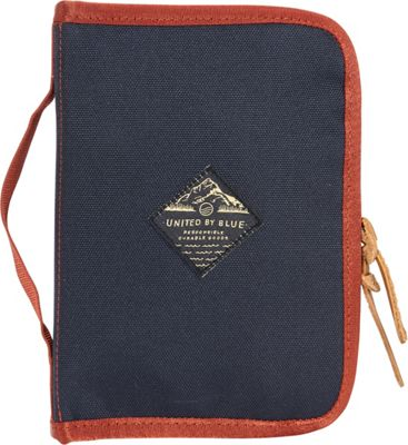 United by Blue Peaks Zip Case Navy/Rust - United by Blue Packing Aids