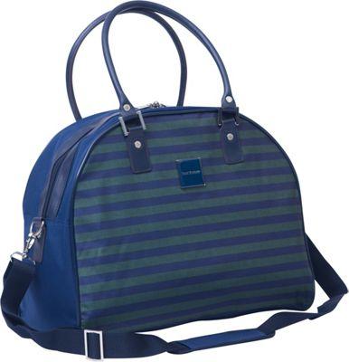 Isaac Mizrahi Ingram DLX Travel Dome Satchel Green - Isaac Mizrahi Luggage Totes and Satchels