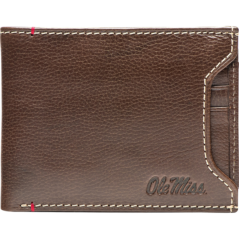 Jack Mason League NCAA Alumni Sliding 2 in 1 Wallet Ole Miss - Jack Mason League Mens Wallets - Work Bags & Briefcases, Men's Wallets