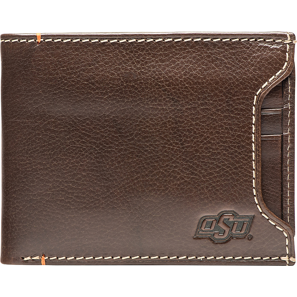 Jack Mason League NCAA Alumni Sliding 2 in 1 Wallet Oklahoma State - Jack Mason League Mens Wallets - Work Bags & Briefcases, Men's Wallets