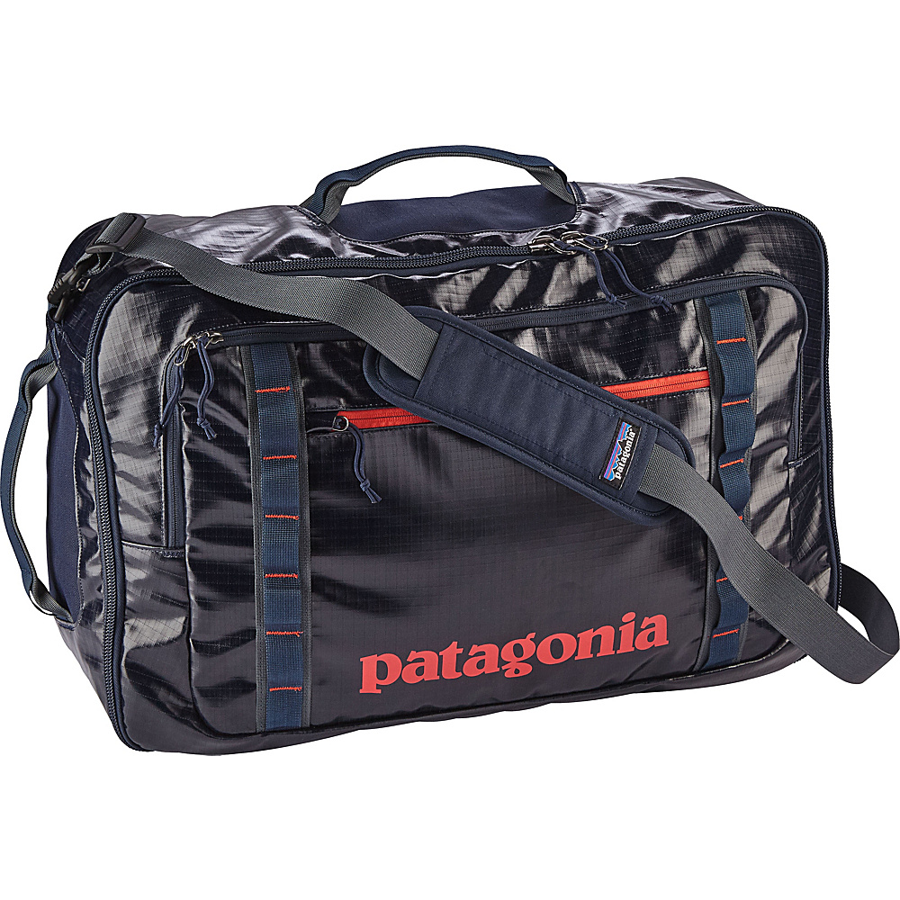 Patagonia Black Hole MLC 45L Navy Blue w/Paintbrush Red - Patagonia Travel Backpacks - Backpacks, Travel Backpacks