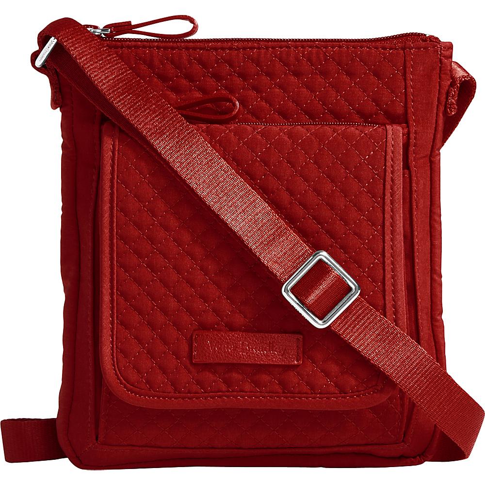 Vera Bradley Iconic RFID Mini Hipster - Solids Cardinal Red - Vera Bradley Fabric Handbags - Handbags, Fabric Handbags