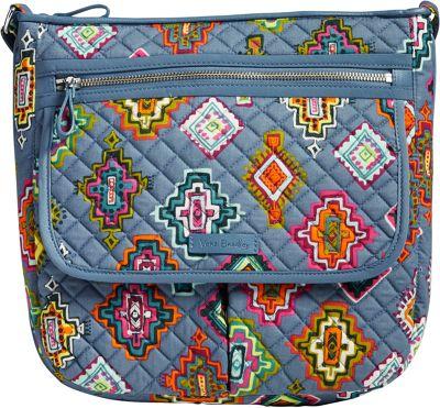 Vera Bradley Iconic Mailbag Painted Medallions - Vera Bradley Fabric Handbags