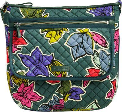 Vera Bradley Iconic Mailbag Falling Flowers - Vera Bradley Fabric Handbags