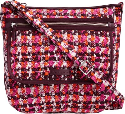 Vera Bradley Iconic Mailbag Houndstooth Tweed - Vera Bradley Fabric Handbags