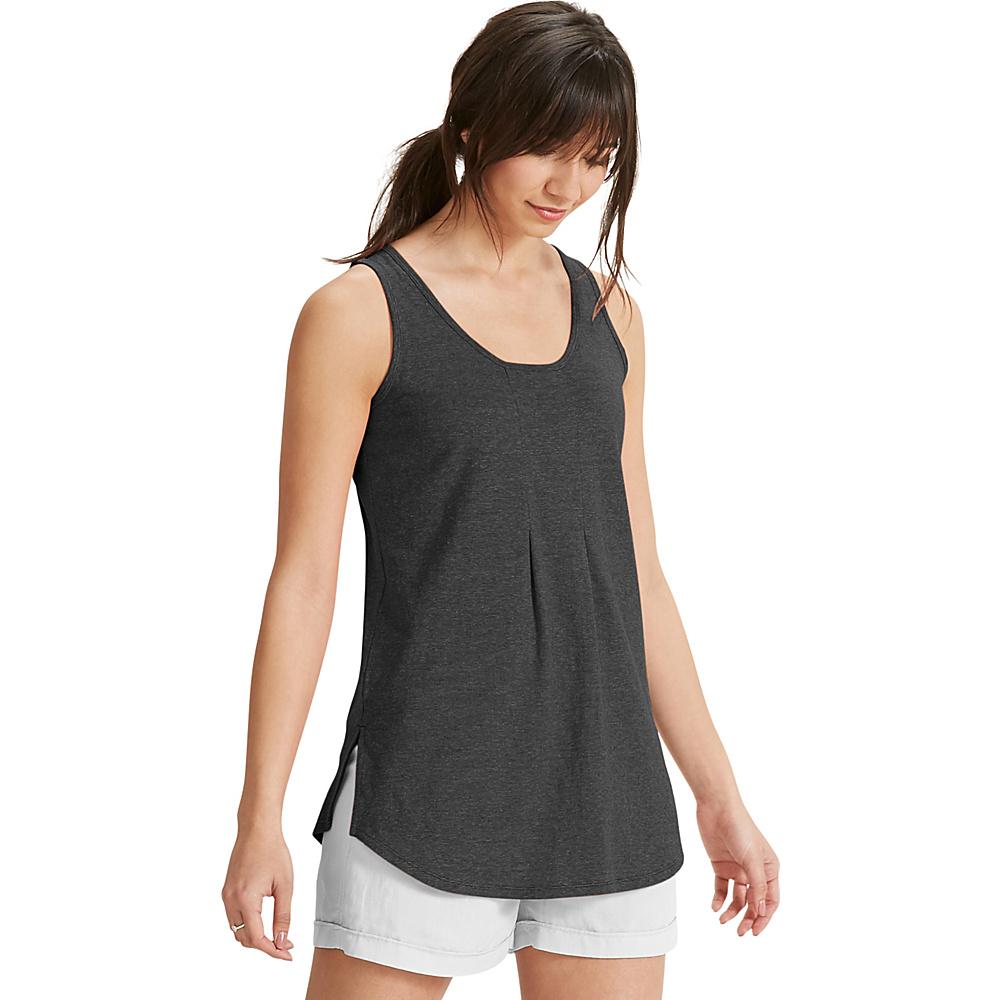 NAU Clothing Womens Kanab Tank XS - Caviar Heather - NAU Clothing Womens Apparel - Apparel & Footwear, Women's Apparel